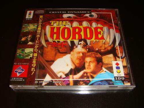 The Horde Panasonic 3DO Japan NEW
